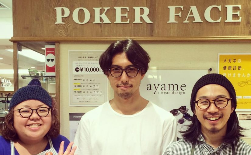 POKER FACE 札幌PARCO店『ayame TRUNK SHOW』